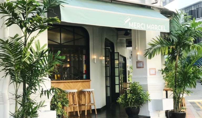 Merci Marcel's second branch is on Club Street: More French, more fab