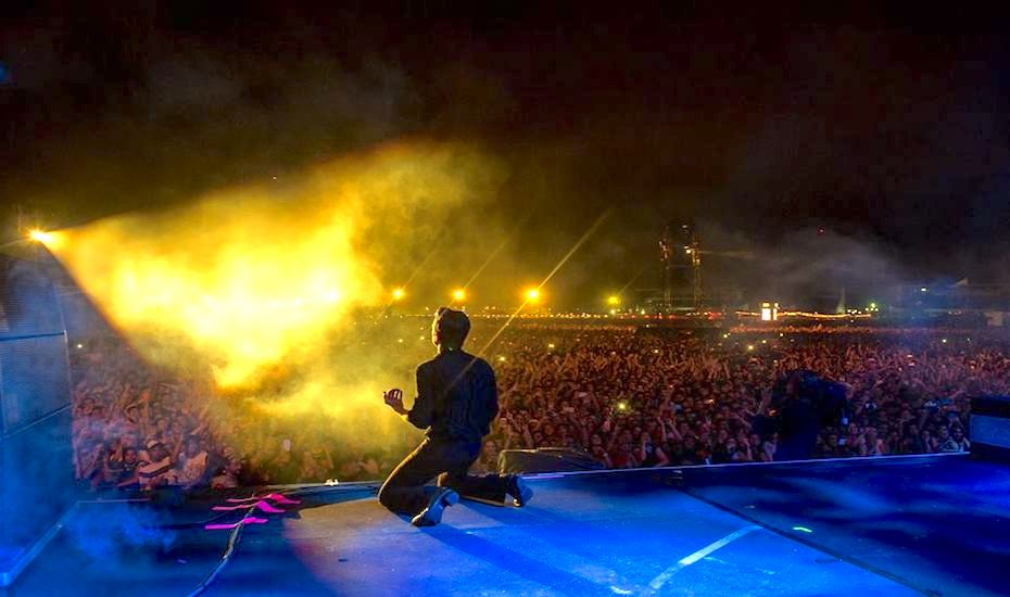 Catch The Killers live at the Singapore Grand Prix this year