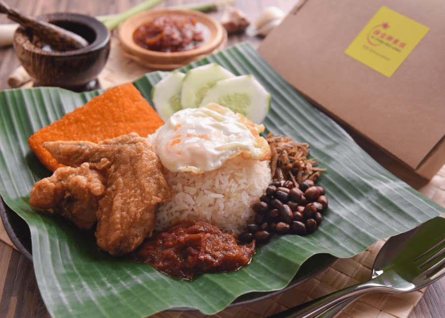 changi nasi lemak in singapore