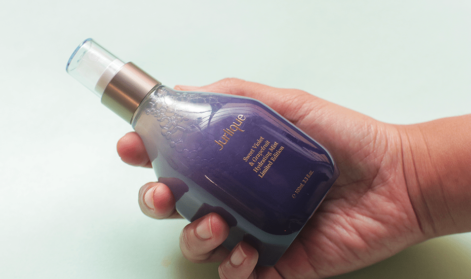 Facial mists: Sweet Violet and Grapefruit Hydrating Mist
