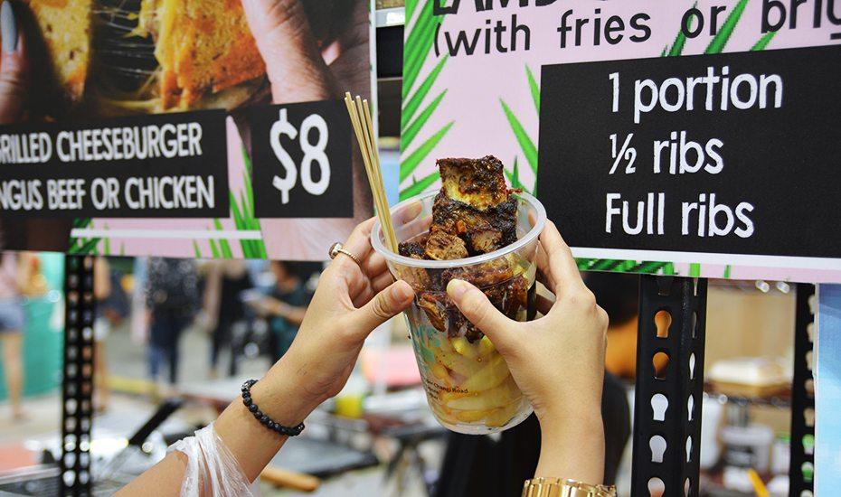 Geylang bazaar beef ribs