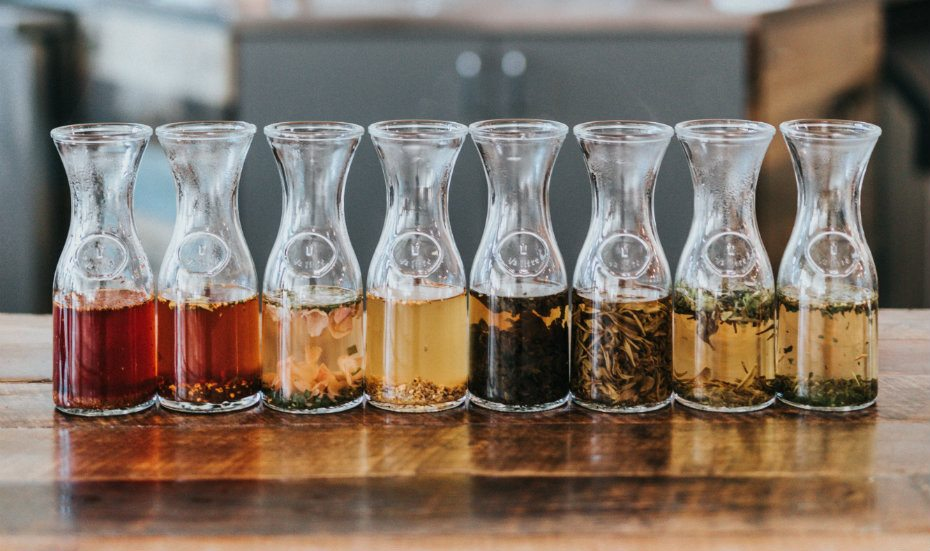 Tea blending workshop with Gryphon Tea at Sunday Folks Singapore