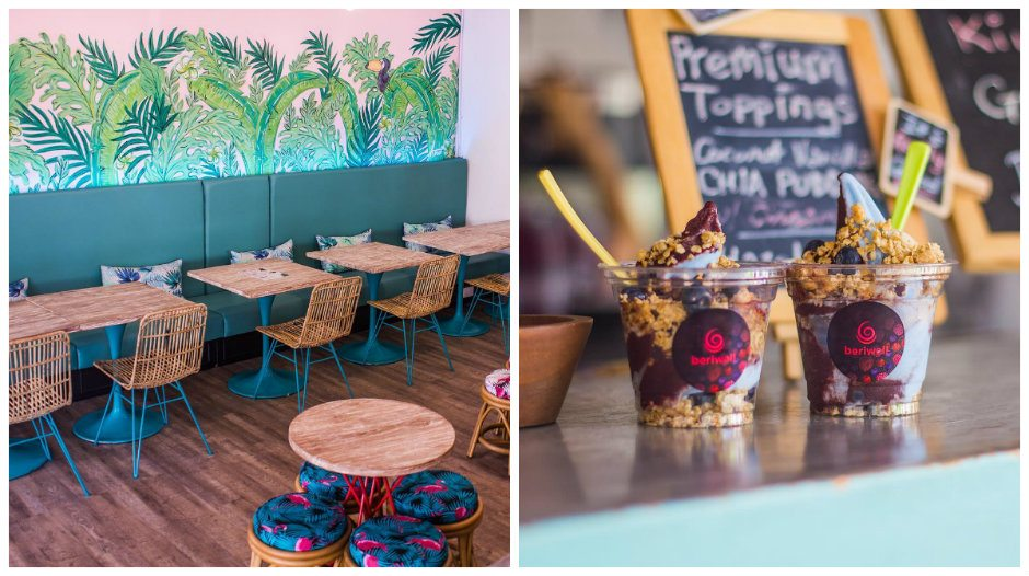 Tropical-themed cafes: Berriwell