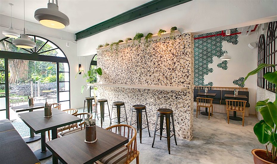 Tropical-themed cafes in Singapore: The Garage