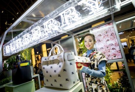 Fann Wong | Burberry Singapore