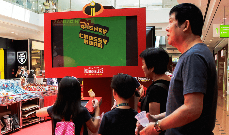 Jurong Point will be offering complimentary video games for their shoppers during Super Family Funday
