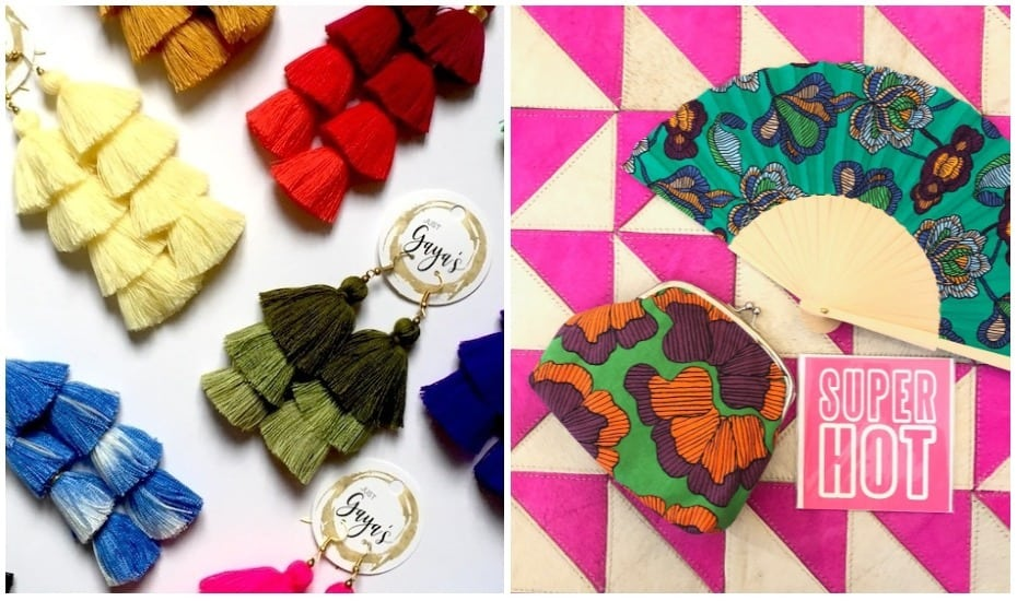 Multi-brand boutique Just Gaya's will be selling its famous tassel earrings and pieces by Nala Designs at Honeycombers Girls' Night Out