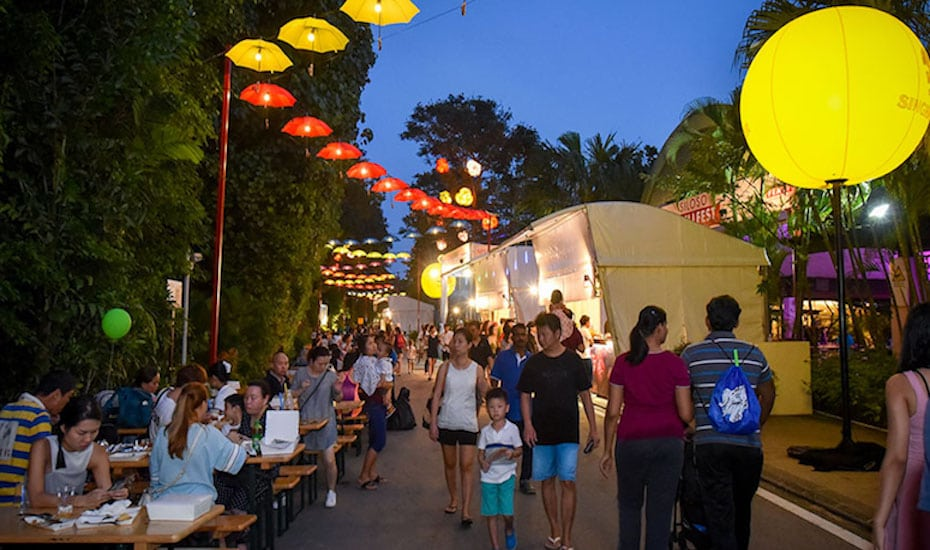 Head down to Sentosa Grillfest which is part of the Singapore Food Festival