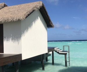 Our Water Villa at The Residence Maldives. Slip straight into the clear waters of a private lagoon.