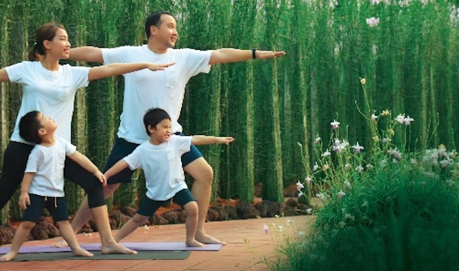 Happy Yoga Day is a good way to kick off the month