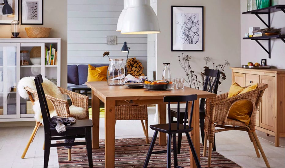 Where to shop for the perfect dining table for your home: IKEA