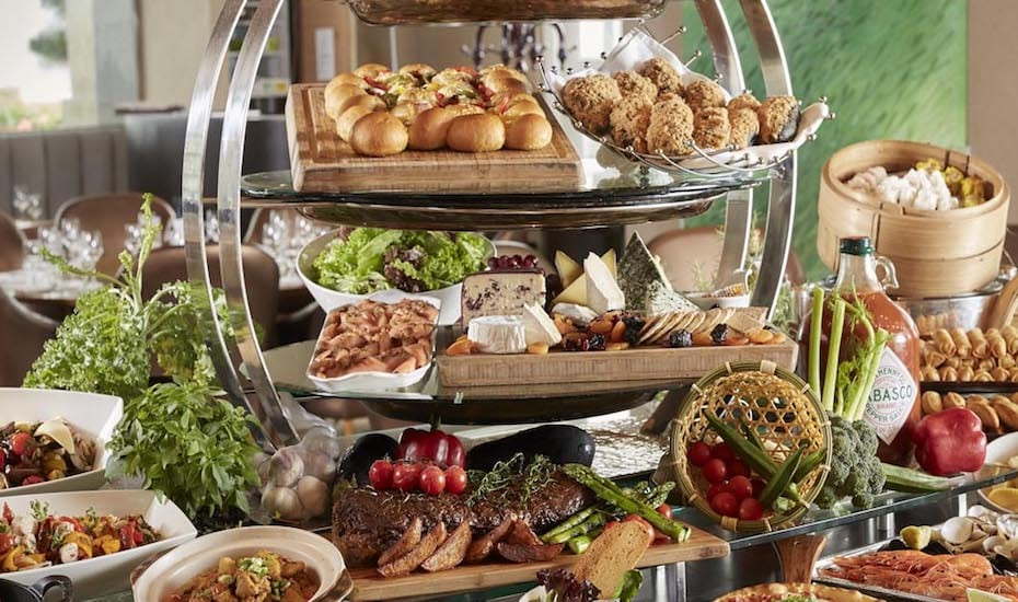 Indulge in a buffet spread at Town Restaurant this Father's Day