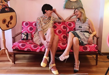 A Vintage Tale's founders Azzurra (left) and Jasmine.
