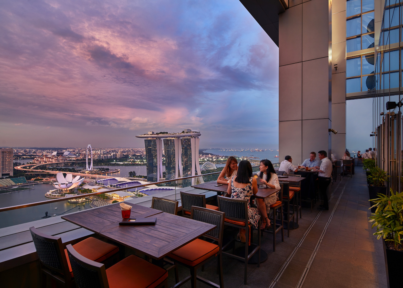 Singapore's most spectacular rooftop bars