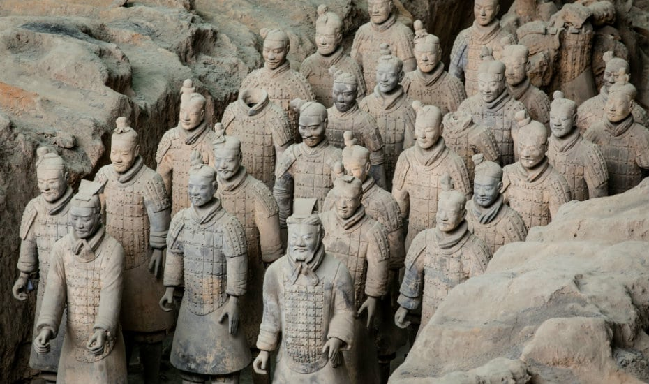 Terracotta Warriors | Changi Airport