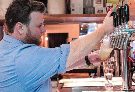 Tim Ashwood of Nickeldime is the craft beer expert