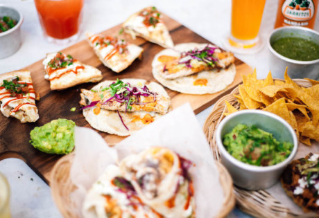 Papi's Tacos serves authentic burritos, tacos and quesadillas in Seah St Singapore.