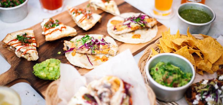Papi's Tacos serves authentic burritos, tacos and quesadillas in Seah St Singapore.