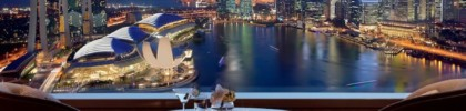 Catch the F1 action from the comfort of Ritz Carlton Millenia