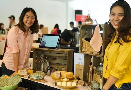 Jacqueline and Angeline of The Clean Attempt. Eco friendly zero waste living in Singapore