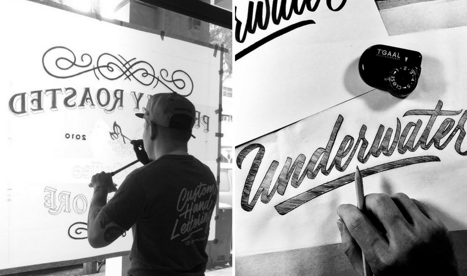 Hand lettering artists | Calligraphy | typography| Artists in Singapore