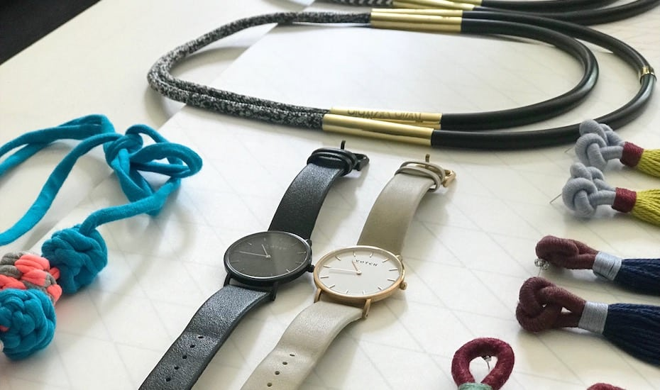 Vegan-friendly watches by Votch and ethically made Twin Within necklaces available atZerrin.