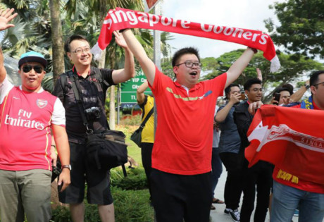 Top 10 things to do: Fans welcome Arsenal to Singapore