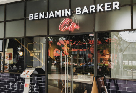 Benjamin Barker Cafe in Orchard Road