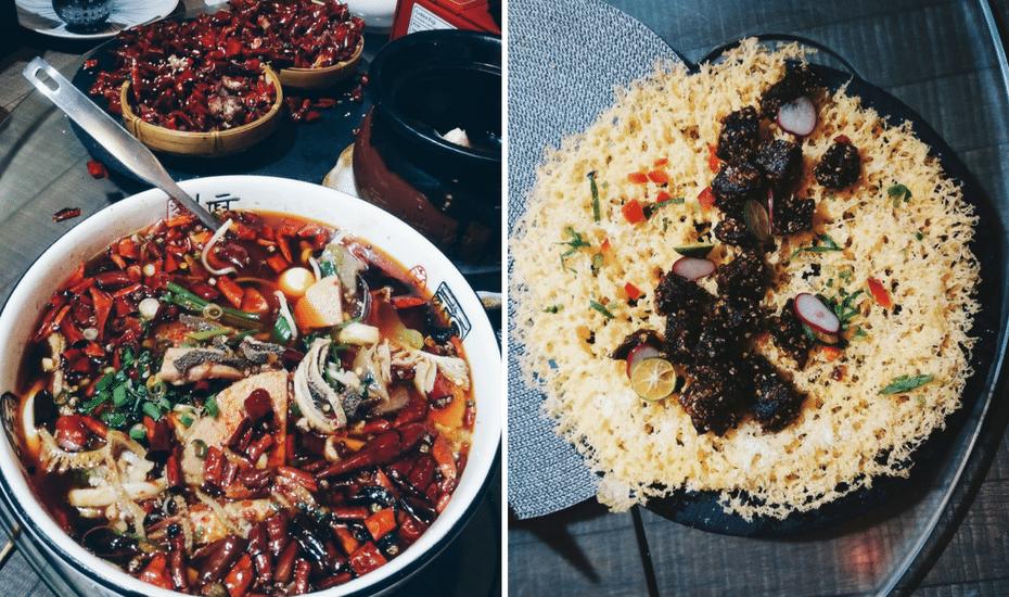 Szechuan food in Singapore: For Szechuan cuisine with a dramatic flair…