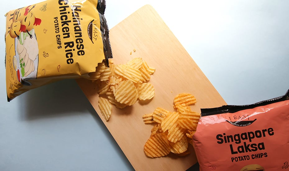 We promise, these chips will grow on you. Or it could just be the MSG talking. Photography: Hylman Suwandi