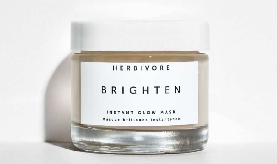 Crystal infused beauty products: Herbivore Botanicals Instant Glow Mask