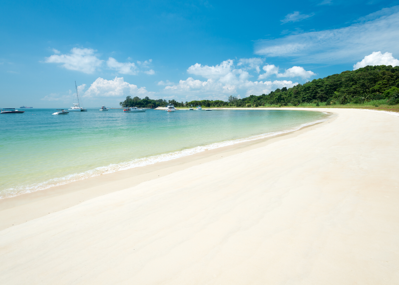 Beaches in Singapore: Lazarus Island