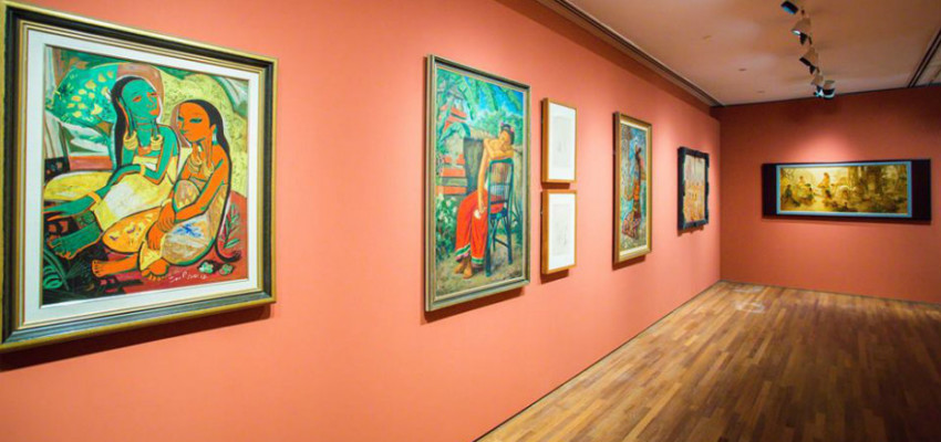 The DBS Singapore Gallery at the National Gallery Singapore presents a cohesive history of Singapore art.
