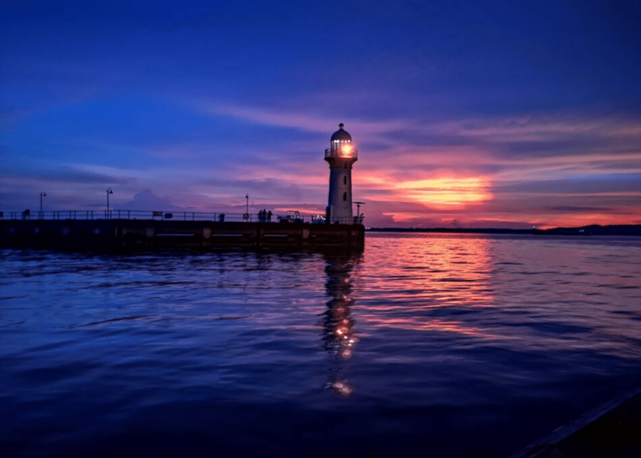 lighthouse at sea | things to do in singapore