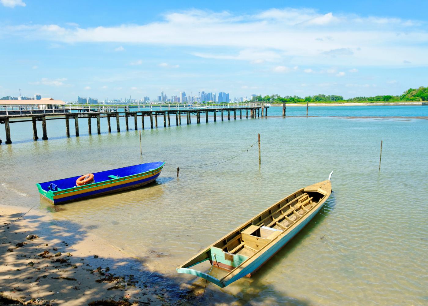 St. John's Island   beaches in Singapore