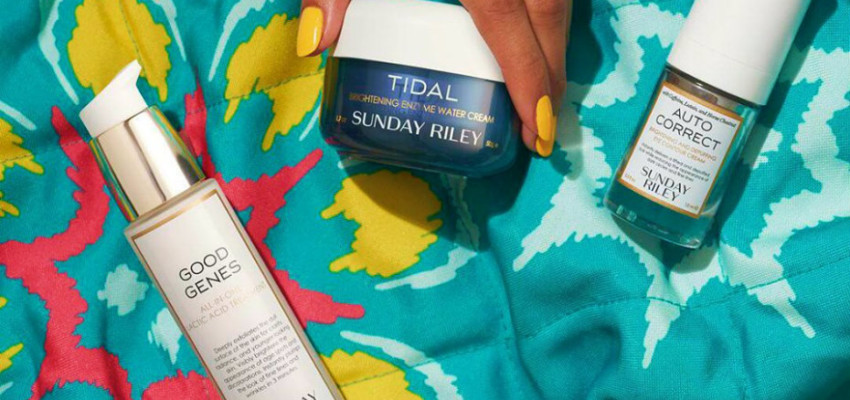 Super ingredients in your skincare is all the hype right now: Cult beauty brand Sunday Riley lands on our shores.