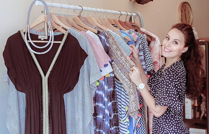 Susannah Jaffer, founder of Zerrin sustainable and ethical fashion store