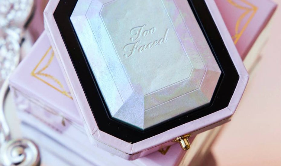 Crystal infused beauty products: Too Faced Diamond Light Highlighter