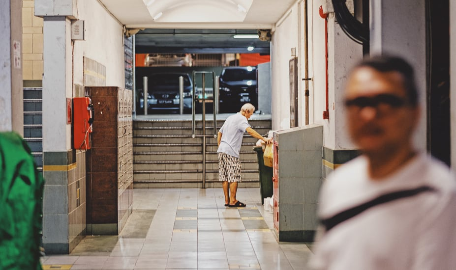 Older inhabitants of Singapore's Chinatown, photographed by Meera Jane Navaratnam of Asia Photo Collective