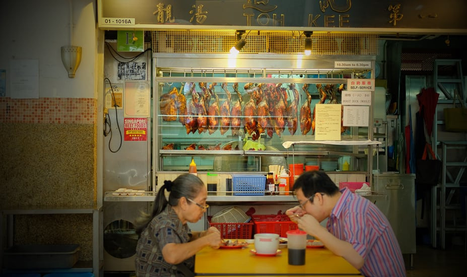 Family lunch: Singapore's Chinatown, photographed by Meera Jane Navaratnam of Asia Photo Collective