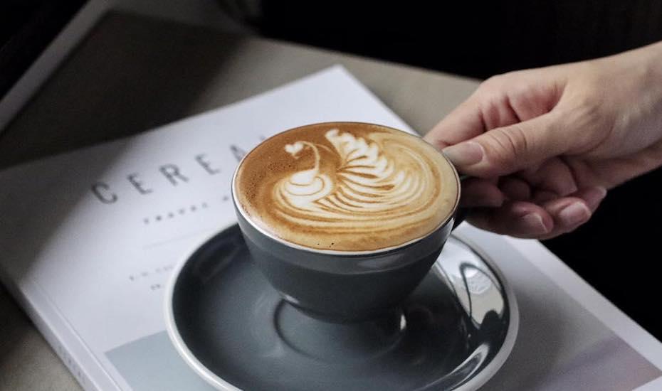 Coffee at Habitat Coffee