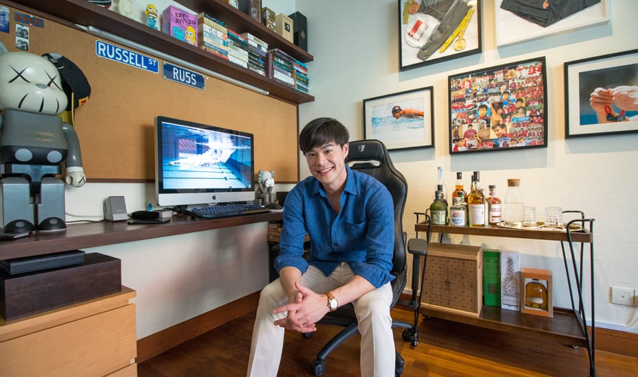 Luxe travel host and sports junkie Russell Ong shares tips on snagging creature comforts during a holiday