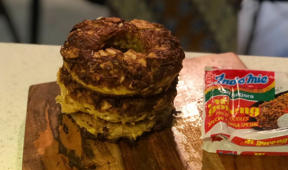 Crunchy and savoury, these Indomie donuts are bingeworthy... but better watch the calories!