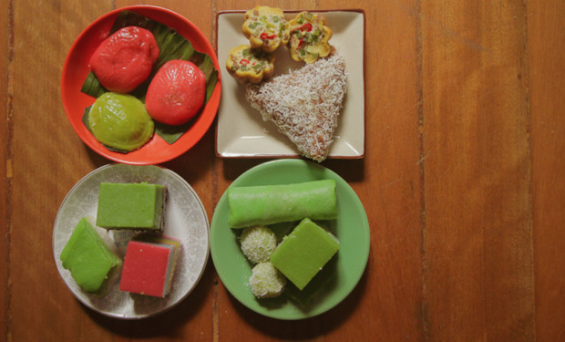 Singapore kueh is colourful and full of surprising flavours.