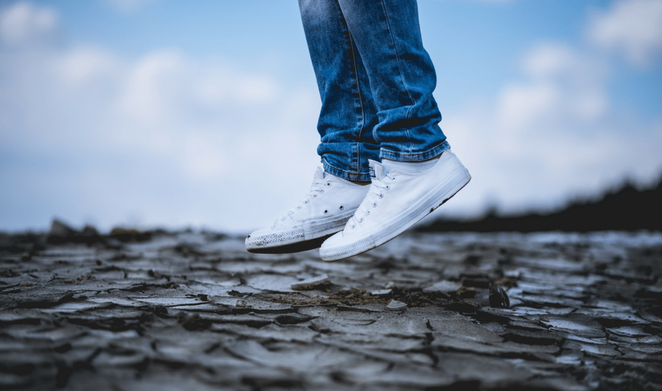 #LifeHack: How to get the white bits on your sneakers to look squeaky clean in seconds