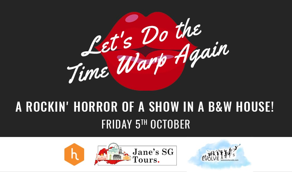 Let's Do the Time Warp Again: A Rockin' Horror of a Show in a B&W house