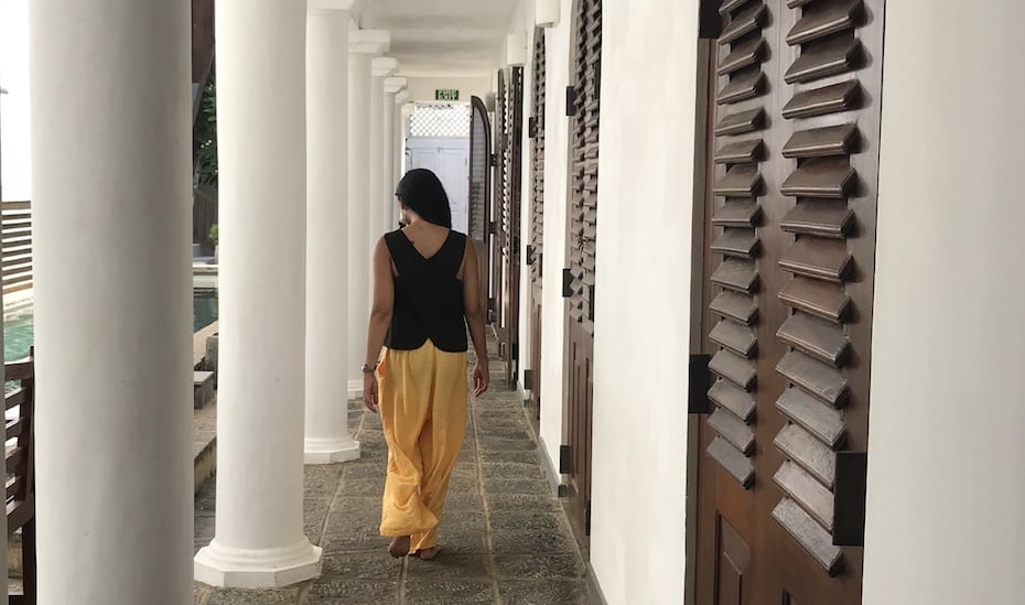 Ambassador's House luxury Villa Galle Fort Sri Lanka