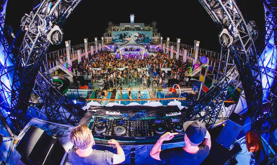 It's The Ship 2018 EDM music festival cruise