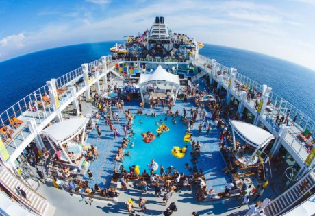 It's The Ship 2018 EDM music festival at sea