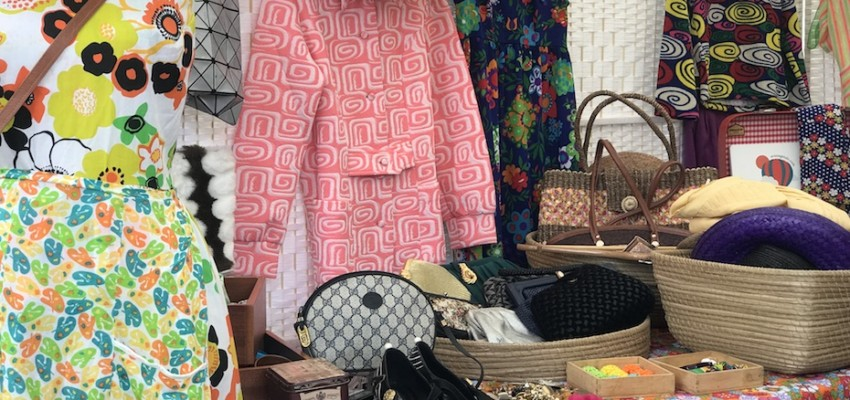 Flea markets for shopping local designers, handmade and vintage